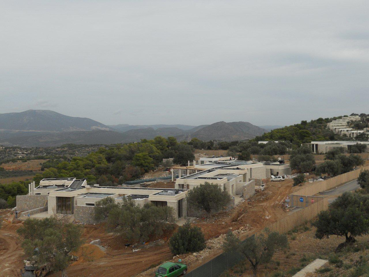 Domotechniki sa construction of twenty 5 star villas in for 5 star villas