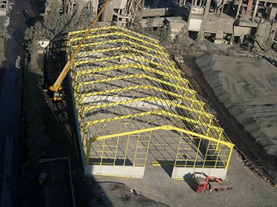 <b>Κατασκευή στεγάστρων OWC και ΚΛΙΝΚΕΡ – Εργοστάσιο Μυλακίου</b><br/>ΑΓΕΤ ΗΡΑΚΛΗΣ