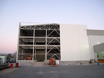 <b>Κατασκευή νέου ψυκτικού θαλάμου στη ΒΙ.ΠΕ. Θεσσαλονίκης</b></br>ΜΠΑΡΜΠΑ ΣΤΑΘΗΣ Α.Β.Ε.Ε
